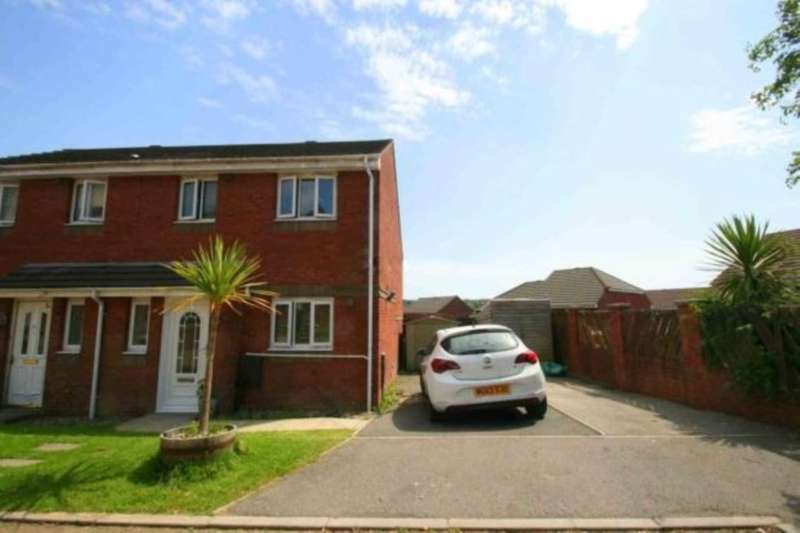 3 Bedrooms Semi Detached House for sale in Juniper Way, Plympton