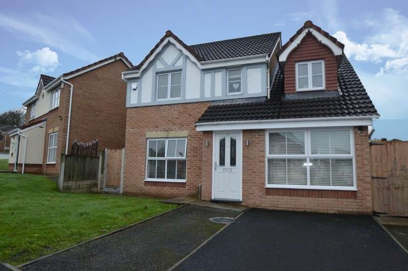4 Bedrooms Detached House for sale in Greendale Drive, Radcliffe, Manchester, M26