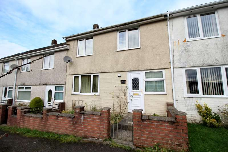3 Bedrooms Terraced House for sale in Bryncelyn Estate, Blaina, Abertillery, NP13