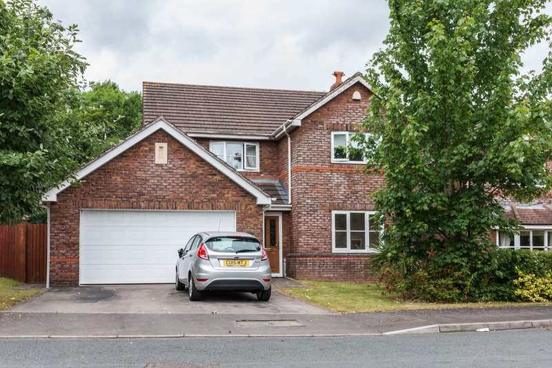4 Bedrooms Detached House for sale in Nant-y-Moor Close, Newport, Gwent, Monmouthshire, NP10