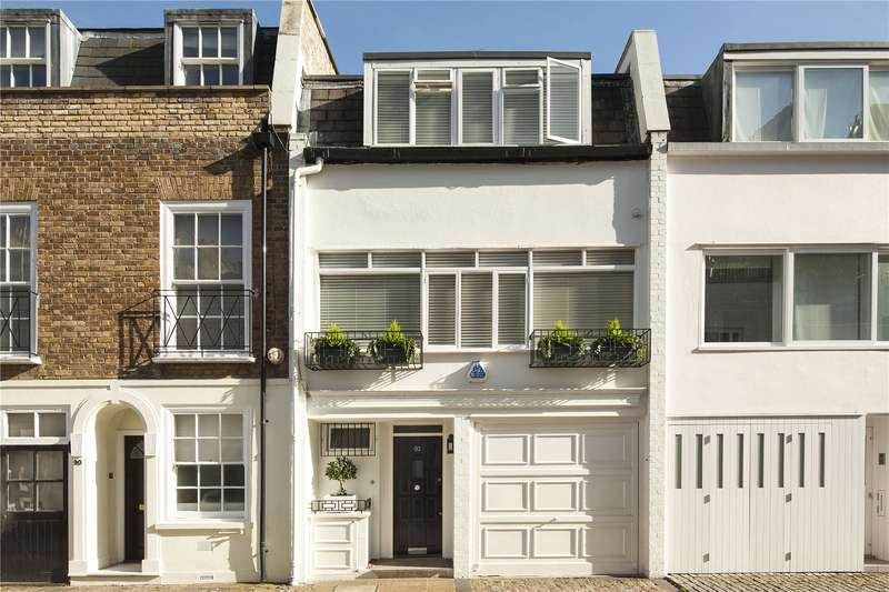 4 Bedrooms House for sale in Ebury Mews, London, SW1W