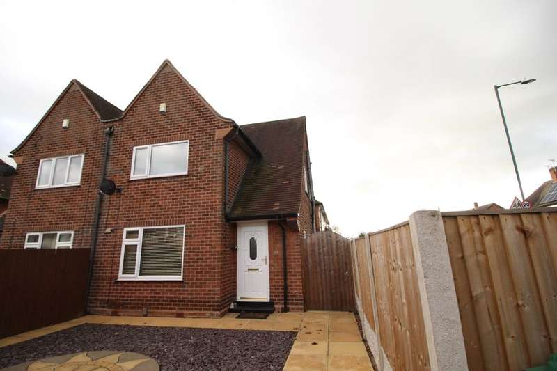 2 Bedrooms Semi Detached House for sale in Denewood Crescent, Nottingham, NG8