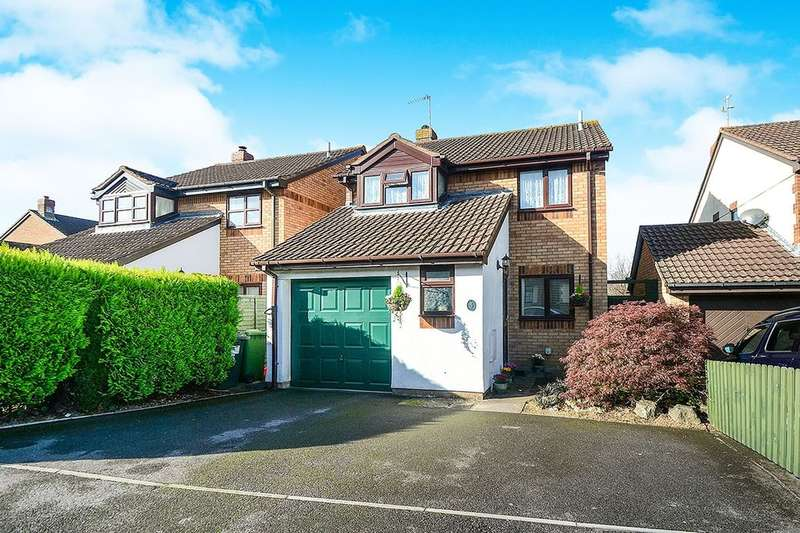 4 Bedrooms Detached House for sale in Belmont Close, Kingsteignton, Newton Abbot, TQ12