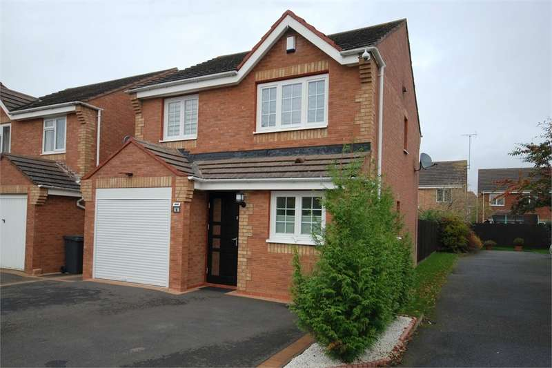 3 Bedrooms Detached House for sale in Saxon Close, Cawston Grange, RUGBY, Warwickshire