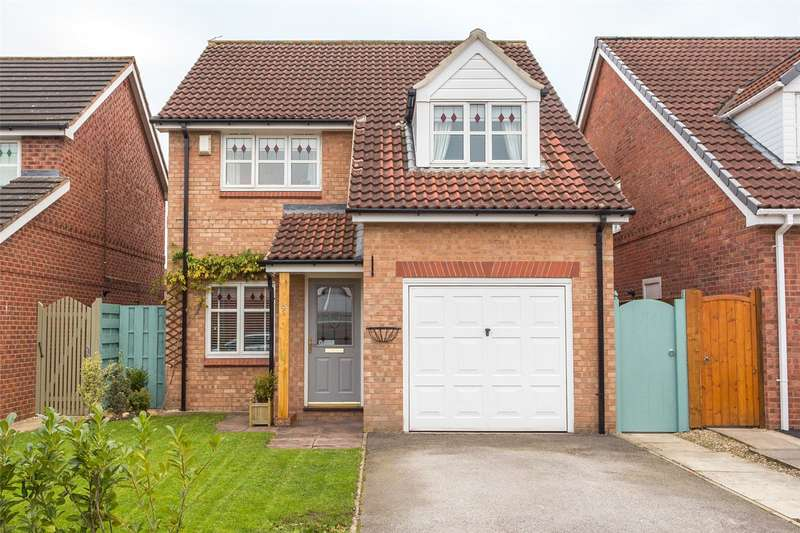 3 Bedrooms Detached House for sale in Wimpole Close, York, YO30