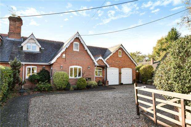 4 Bedrooms Semi Detached House for sale in Cricket Hill, Finchampstead, Wokingham