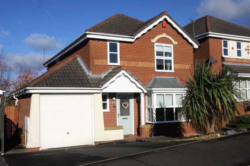 4 Bedrooms Detached House for sale in Shackleton Drive, Stoke on Trent