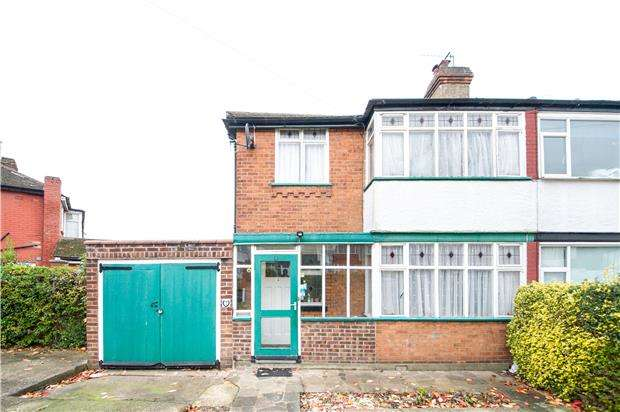 3 Bedrooms Semi Detached House for sale in Culver Grove, STANMORE, Middlesex, HA7 2NJ