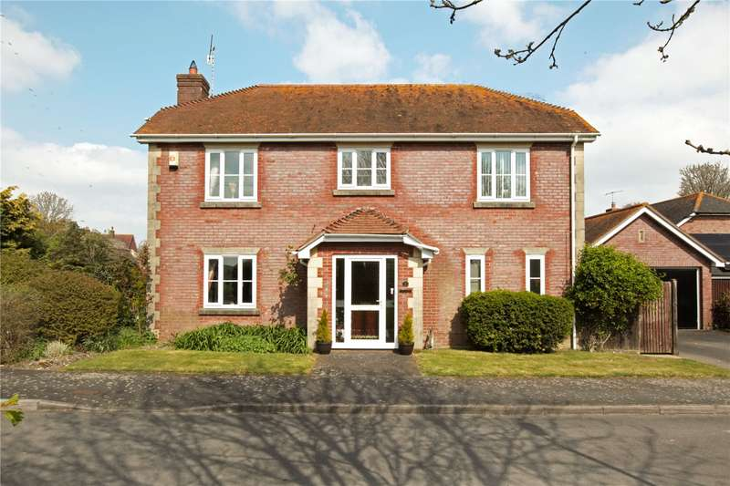 4 Bedrooms Detached House for sale in Alexander Fields, Upavon, Pewsey, Wiltshire, SN9