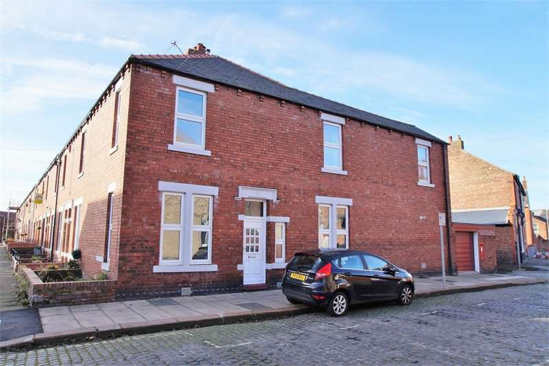 3 Bedrooms End Of Terrace House for sale in CA1 2AR Tullie Street, Off Greystone Road, Carlisle, Cumbria