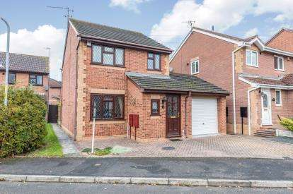 3 Bedrooms Detached House for sale in Dragonfly Green, St. Peters, Worcester, Worcestershire