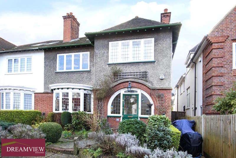6 Bedrooms Semi Detached House for sale in RAVENSCROFT AVENUE, GOLDERS GREEN, LONDON, NW11