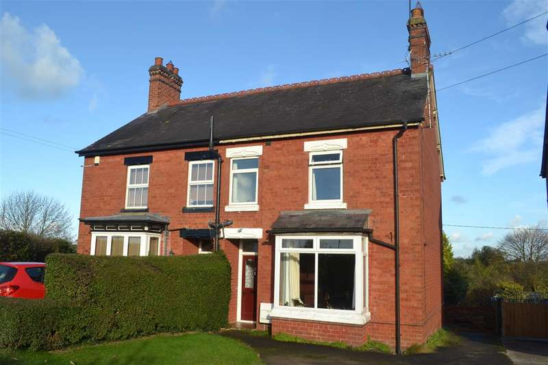 3 Bedrooms Semi Detached House for sale in Moss Villas, Malpas
