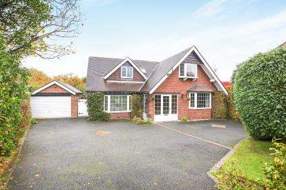 4 Bedrooms Detached House for sale in Orme Close, Prestbury, Macclesfield, Cheshire