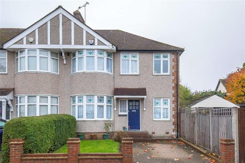5 Bedrooms Semi Detached House for sale in Weirdale Avenue, Whetstone, London, N20