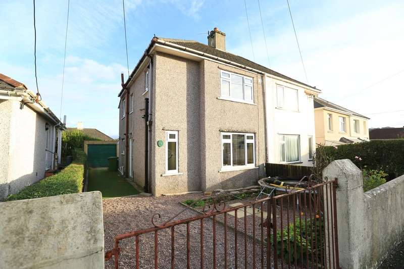 3 Bedrooms Semi Detached House for sale in Plymstock, Plymouth