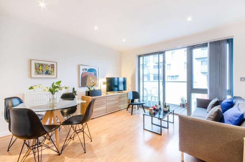 1 Bedroom Flat for sale in Stainsby Road, Poplar, E14