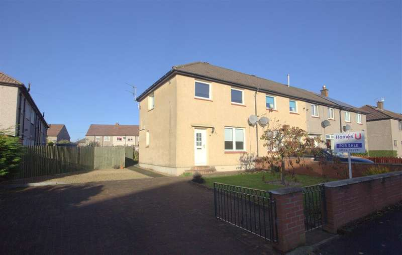2 Bedrooms End Of Terrace House for sale in Bruart Avenue, Stenhousemuir