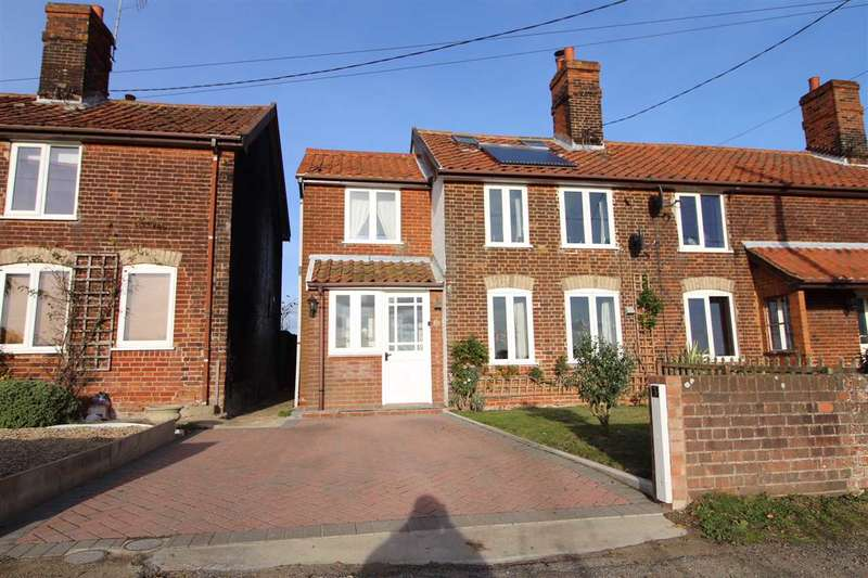 3 Bedrooms End Of Terrace House for sale in Brickfield Terrace, Wades Lane, Ipswich