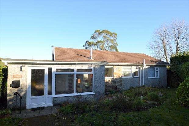 3 Bedrooms Detached Bungalow for sale in Kilmar Close, St. Cleer, Liskeard, Cornwall