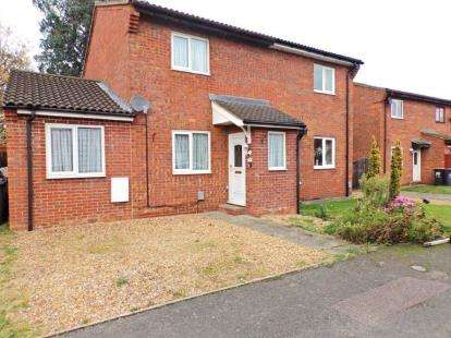 4 Bedrooms Semi Detached House for sale in Walcourt Road, Kempston, Bedford, Bedfordshire