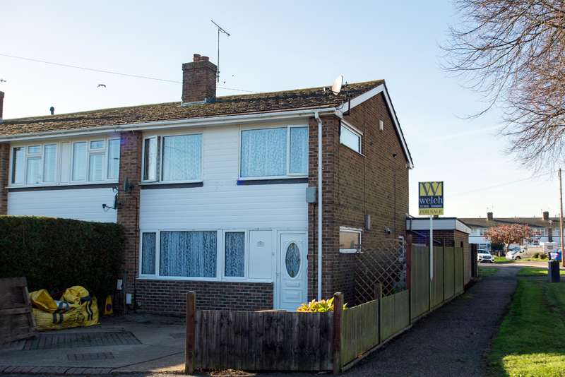 4 Bedrooms End Of Terrace House for sale in Gravelly Crescent, Lancing, West Sussex, BN15 9EG