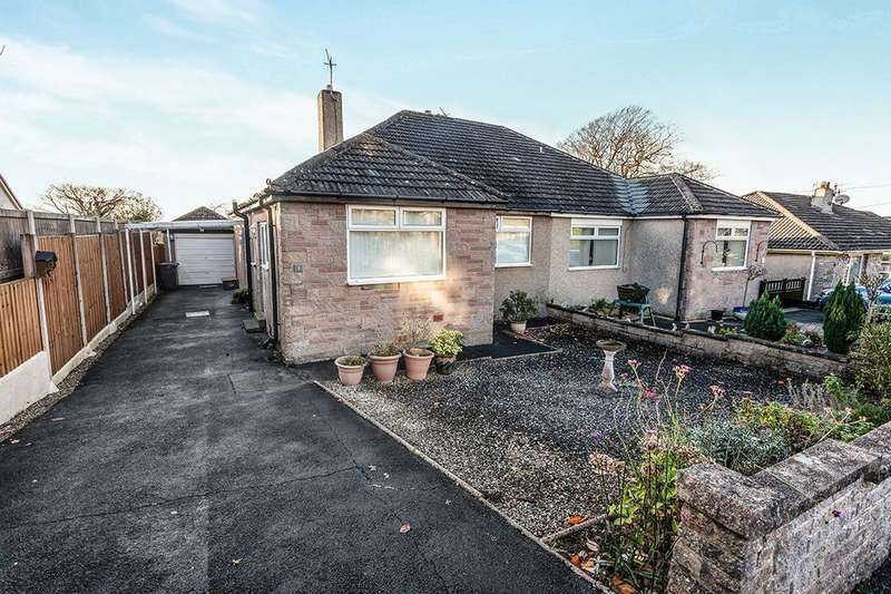 3 Bedrooms Semi Detached Bungalow for sale in Cherry Tree Close, Bolton Le Sands, Carnforth, LA5