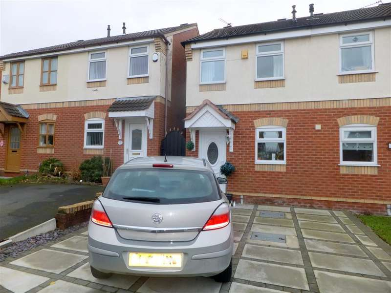 2 Bedrooms Semi Detached House for sale in Newark Close, Huyton, Liverpool