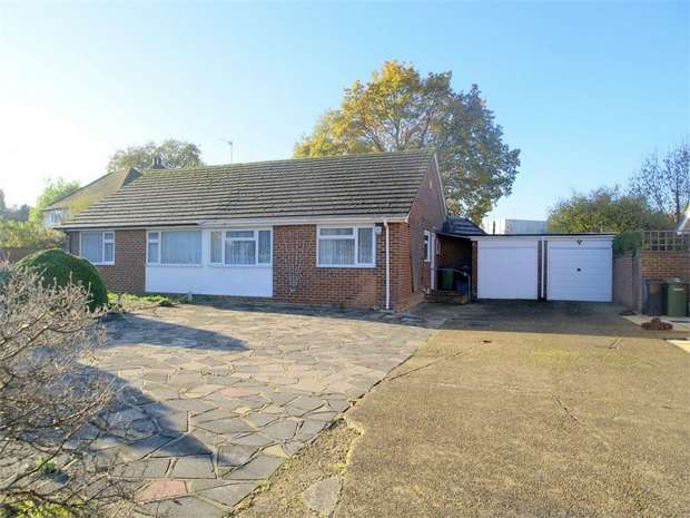 2 Bedrooms Semi Detached Bungalow for sale in Nursery Close, Ewell Village