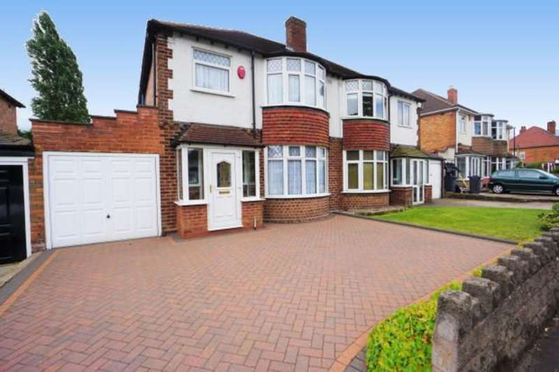 3 Bedrooms Semi Detached House for sale in Kings Road, Sutton Coldfield, B73 5AB