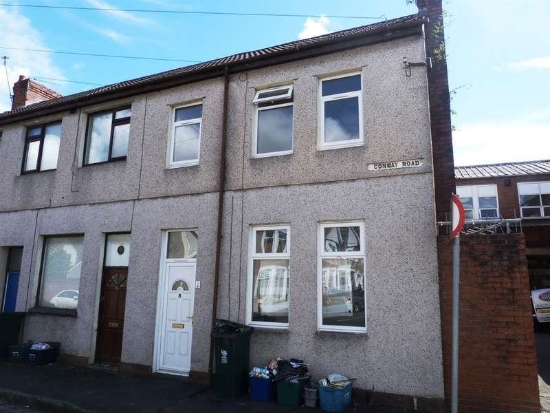 3 Bedrooms End Of Terrace House for sale in Conway Road, Newport