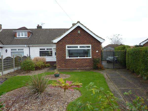2 Bedrooms Semi Detached Bungalow for sale in GRASMERE GROVE, HUMBERSTON, GRIMSBY