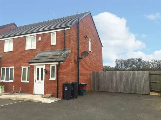 3 Bedrooms Semi Detached House for sale in Greylag Gate, Newcastle, Staffordshire