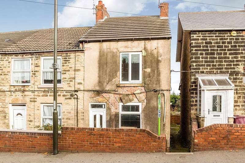 2 Bedrooms Property for sale in North Wingfield Road, Grassmoor, Chesterfield, S42