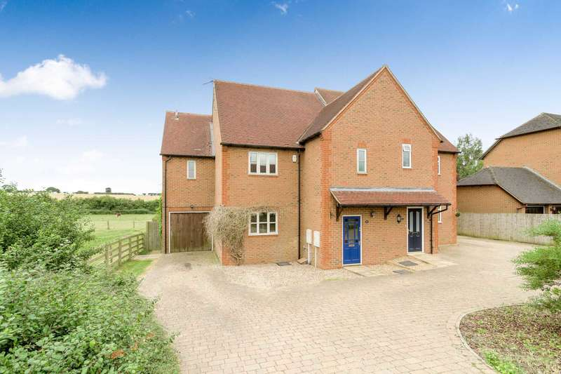 4 Bedrooms Semi Detached House for sale in Bullington End Road, Castlethorpe