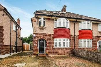 4 Bedrooms Semi Detached House for sale in Wricklemarsh Road, Blackheath, London, SE3 8DW