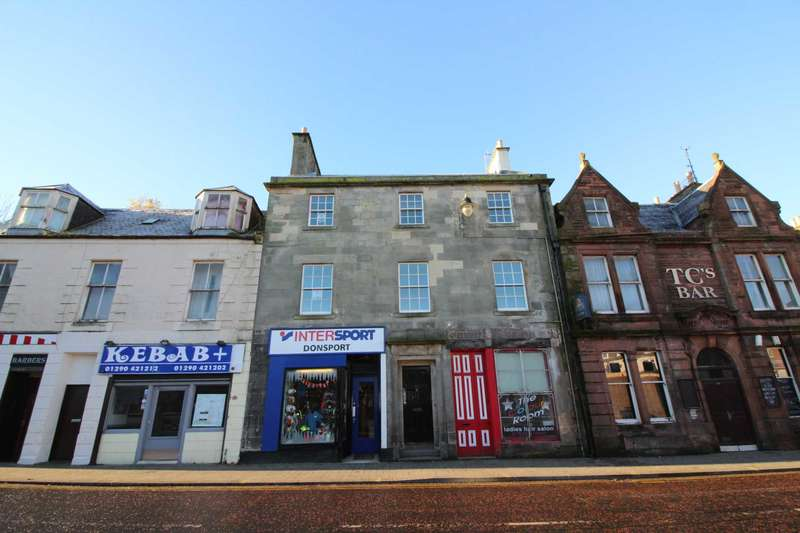 2 Bedrooms Flat for rent in Glaisnock Street, Cumnock