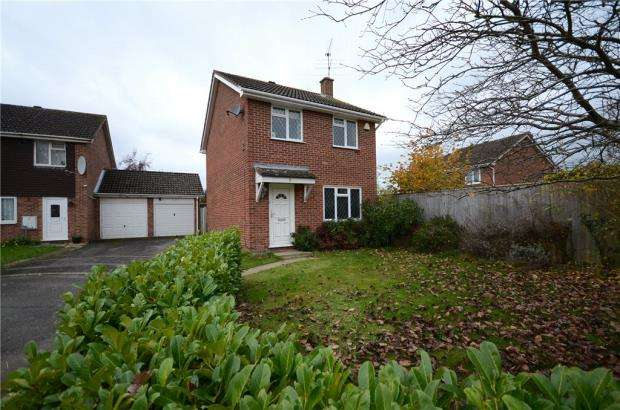 3 Bedrooms Detached House for sale in Keane Close, Woodley, Reading