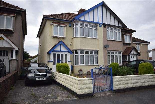 3 Bedrooms Semi Detached House for sale in Vassall Road, Fishponds, BRISTOL, BS16 2LH