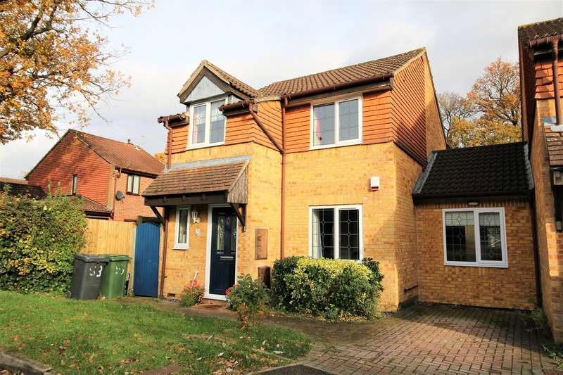 3 Bedrooms Link Detached House for sale in Meadowland, Chineham, Basingstoke, RG24