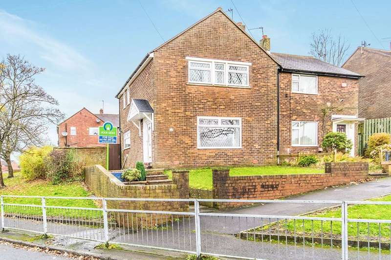 3 Bedrooms Semi Detached House for sale in Tuns Road, Oldham, OL8