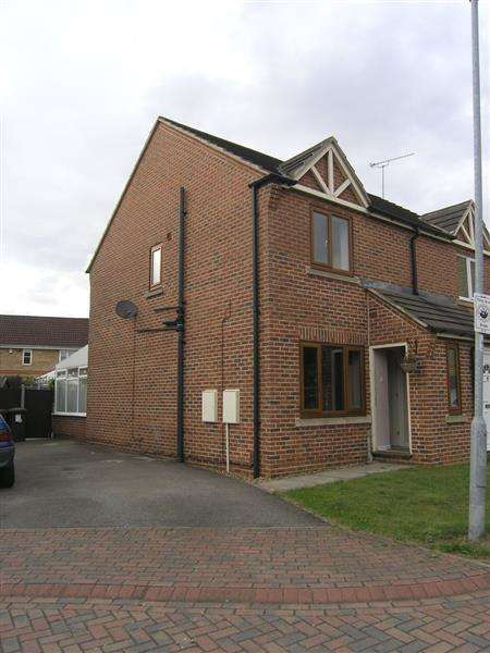 2 Bedrooms Semi Detached House for rent in Ivy House Court, Scunthorpe