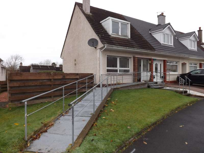 2 Bedrooms End Of Terrace House for rent in 74 Cantieslaw Drive, East Kilbride, Glasgow, G74 3AQ