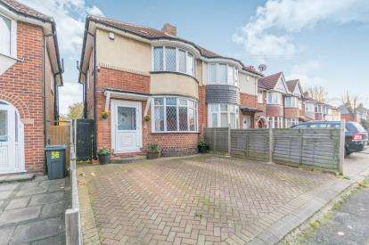 3 Bedrooms Semi Detached House for sale in Yew Tree Lane, Yardley, Birmingham, West Midlands