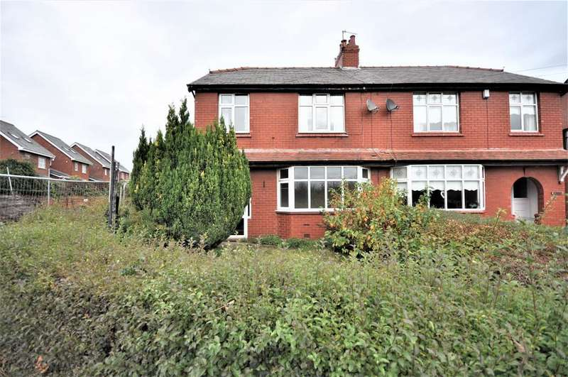 3 Bedrooms Semi Detached House for sale in Briars Lane, Lathom, Ormskirk, Lancashire, L40 5TG