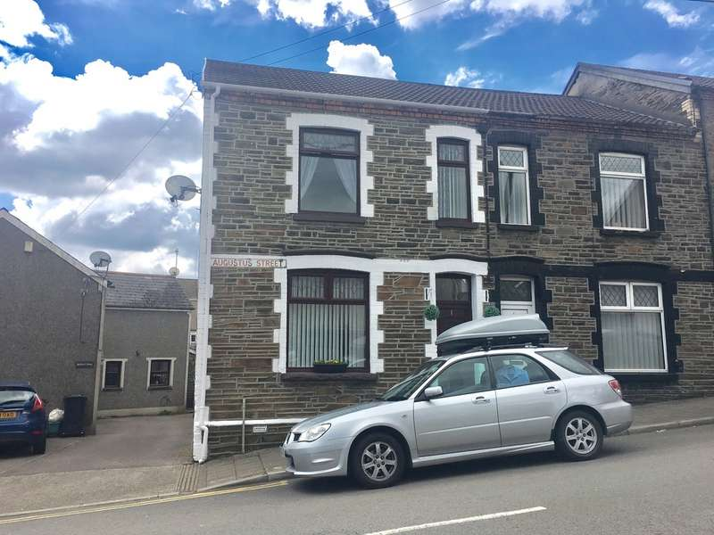 3 Bedrooms End Of Terrace House for sale in Augustus Street, Ynysybwl, Pontypridd