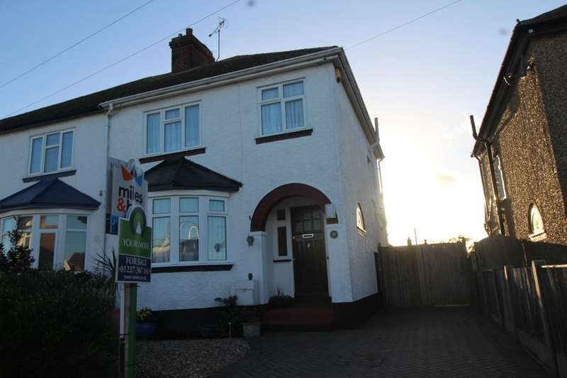 3 Bedrooms Semi Detached House for sale in Bognor Drive, Herne Bay, CT6