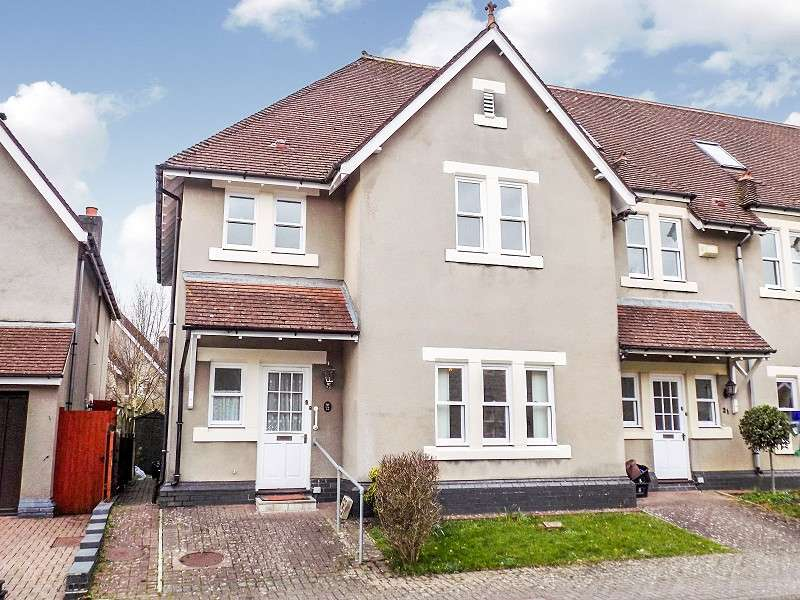 3 Bedrooms End Of Terrace House for sale in Preswylfa Court, Merthyr Mawr Road, Bridgend. CF31 3NX