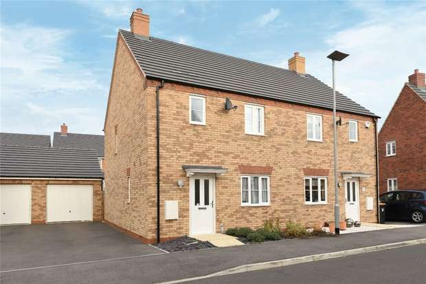 3 Bedrooms Semi Detached House for sale in Flamville Road, Bedford