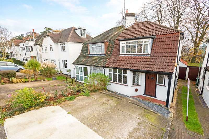 2 Bedrooms Semi Detached House for sale in Chipstead Way, Chipstead, Surrey, SM7